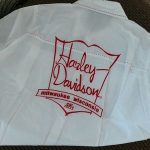 Harley Davidson Women's Button Down Top